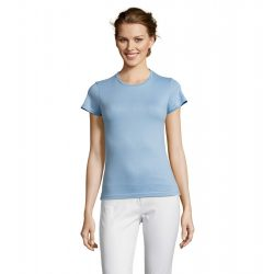 so11386 - Tricou adult dama Sol's [Sky Blue]