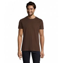 so11500 - Tricou adult barbat Sol's Imperial [Chocolate]