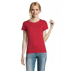so11502 - Tricou adult dama Sol's Imperial [Red]